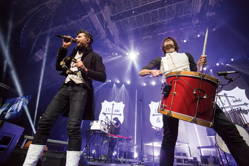 For King & Country on stage