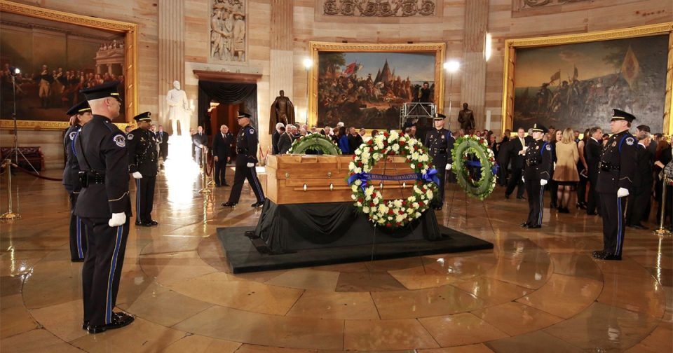 Those Who Have Lain in State or in Honor in the U.S. Capitol Rotunda