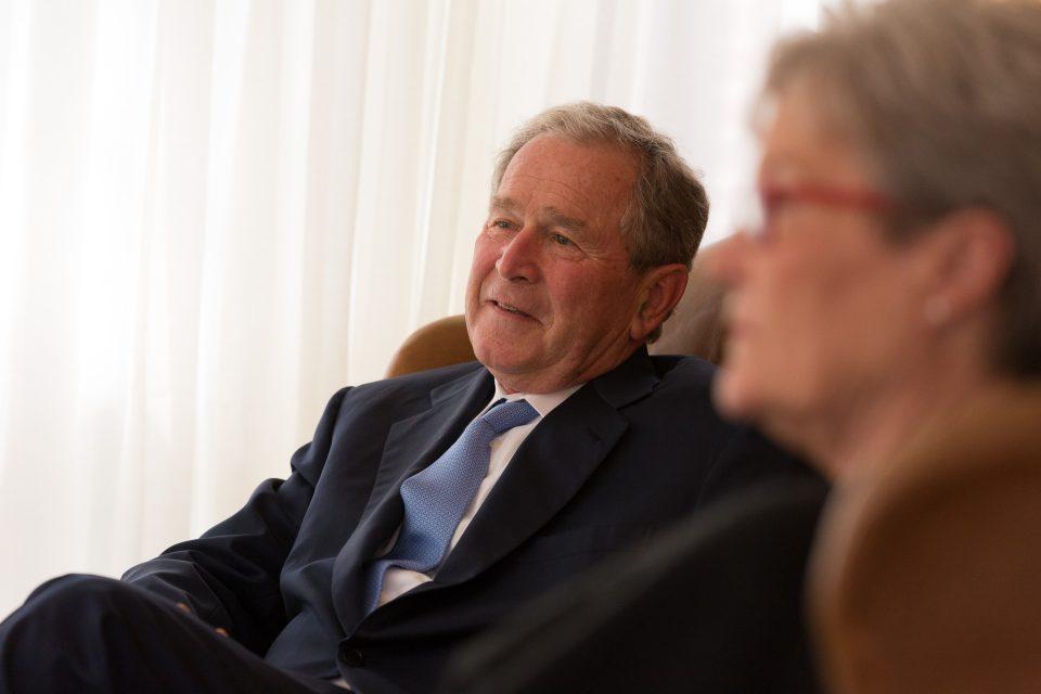 Former President George Bush