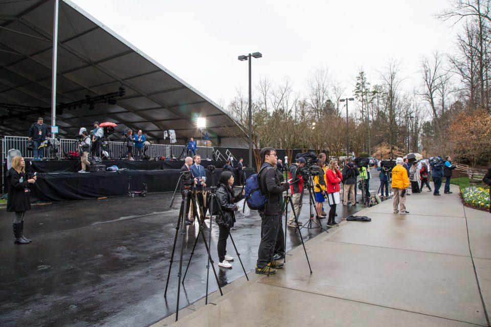 Media gathered