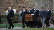End of a Journey: Billy Graham's Family Receives His Casket in Charlotte