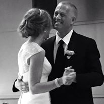 Myron dancing with daughter at her wedding
