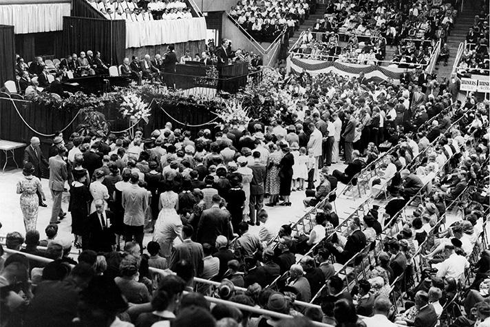 1958 Charlotte, NC, Crusade