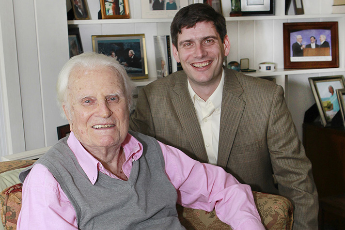 Billy Graham and Will Graham