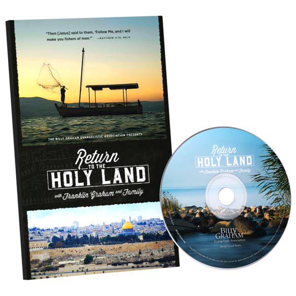 Return to The Holy Land DVD