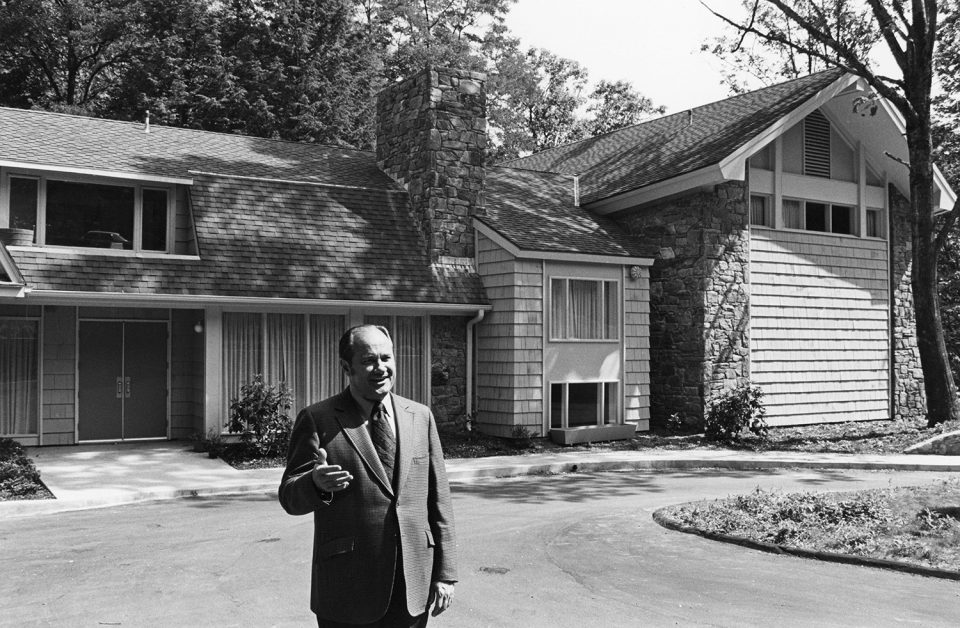 T.W. Wilson at Montreat office