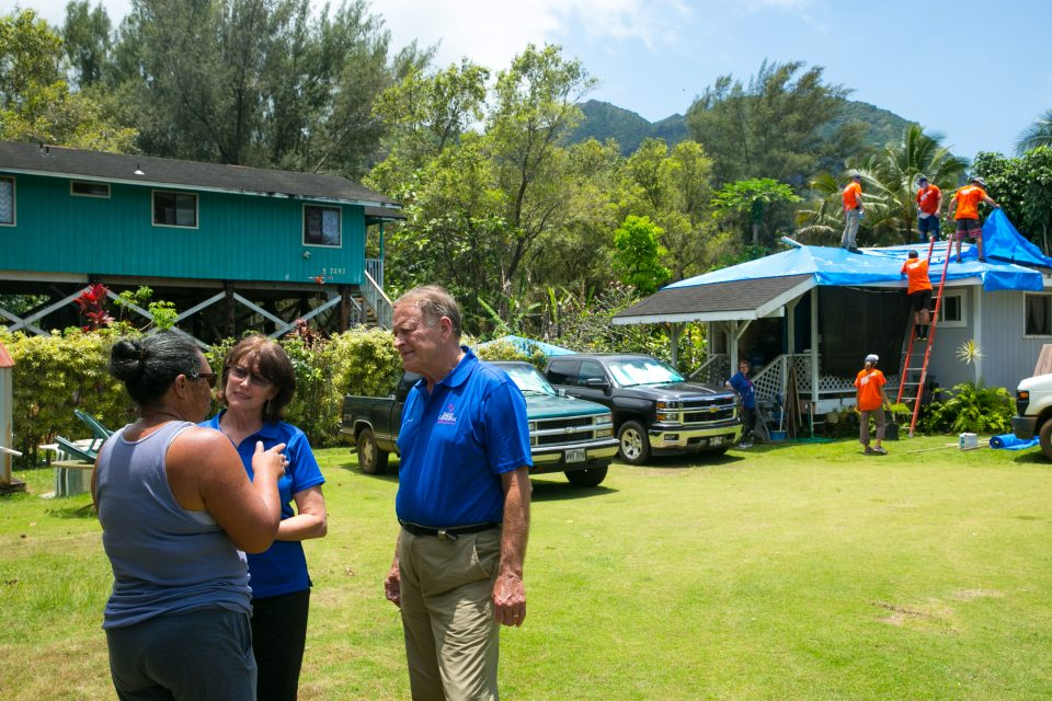 Chaplains Minister to Hawaii Residents After Record Flooding