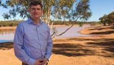 Will Graham Sharing the Good News in Australia's Golden Outback