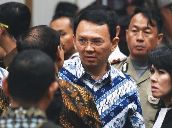 Jakarta's Christian governor Basuki Tjahaja Purnama