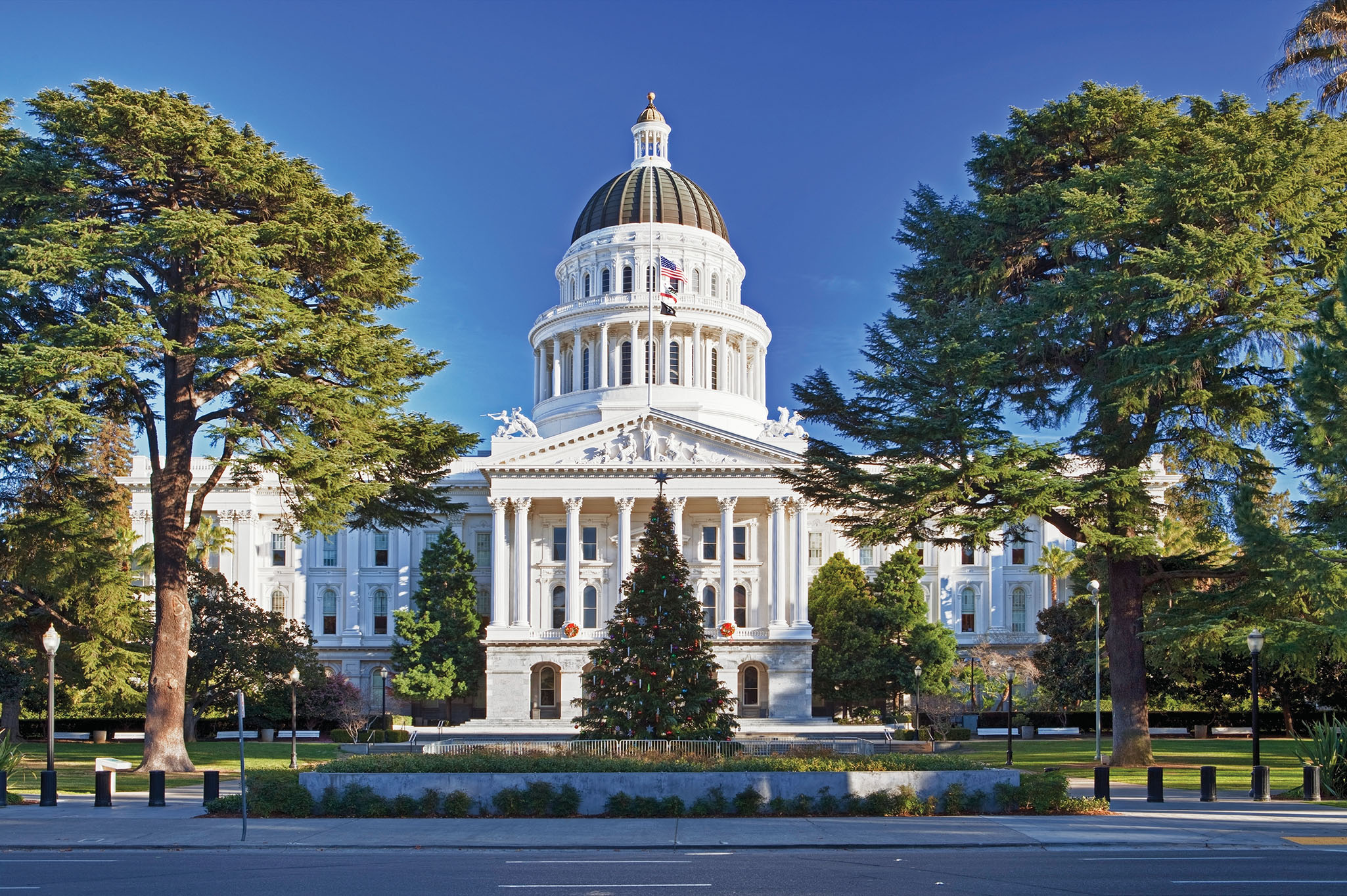 State Capitol Building, Sacramento, Calif.