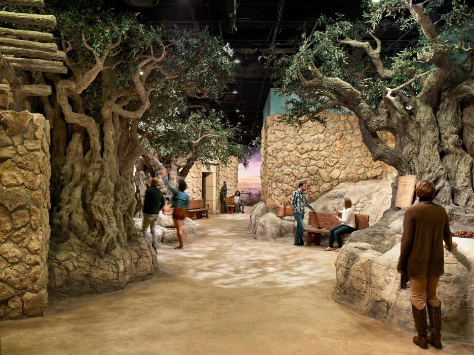 Inside The World of Jesus of Nazareth exhibit in the Museum of the Bible