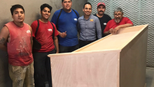 Wooden Pulpit a Sign of God's Faithfulness Ahead of Monterrey Festival