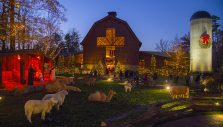 Christmas at the Billy Graham Library in Full Swing