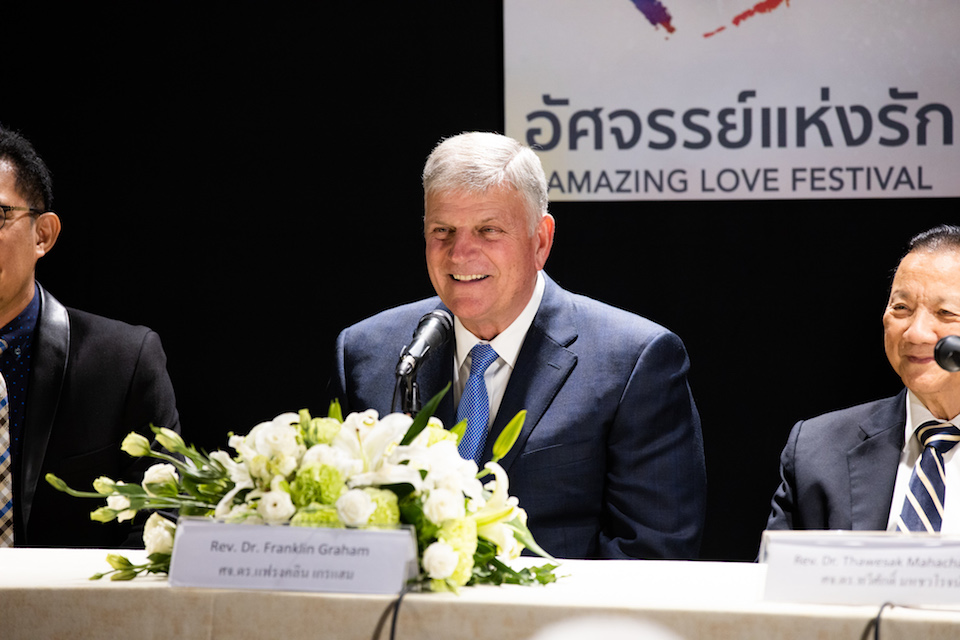 Franklin Graham press conference