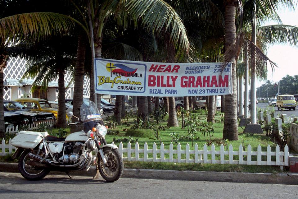 Billy Graham Manila 1977