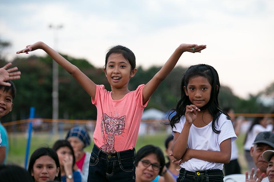 young Filipino girl
