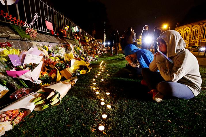 New Zealand shooting memorial