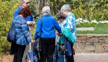 Chaplains Continue Ministry of Prayer at Billy Graham's Gravesite