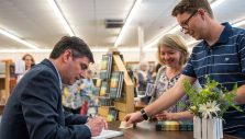 Will Graham Signs Copies of 'Redeemed' Devotional