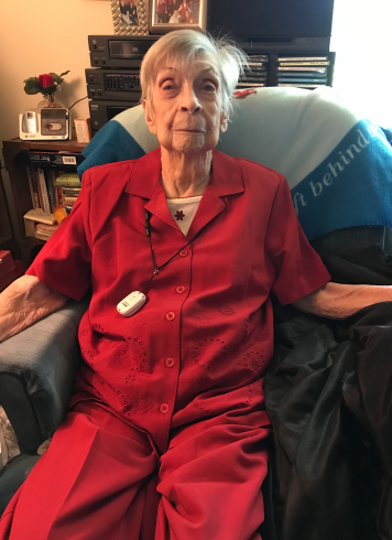 Even at 103 years old, Nova Landrith is still passionate about sharing the hope she's found in Jesus with those who are hurting.