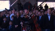 'Amazing Grace' Bagpipes Recessional at Billy Graham's Funeral