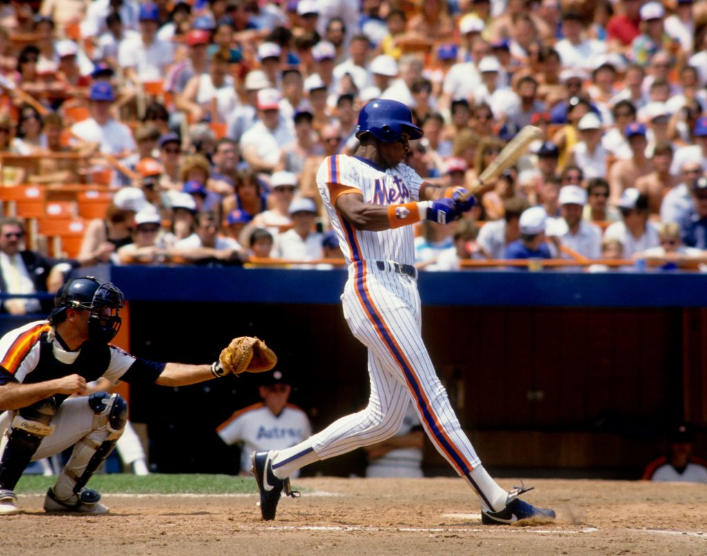 Once Feared Slugger Darryl Strawberry Keeps His Eyes Firmly