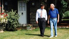 Billy Graham and Franklin Graham on Real Peace