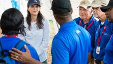 Franklin Graham, Cissie Graham Lynch Visit the Battered Bahamas