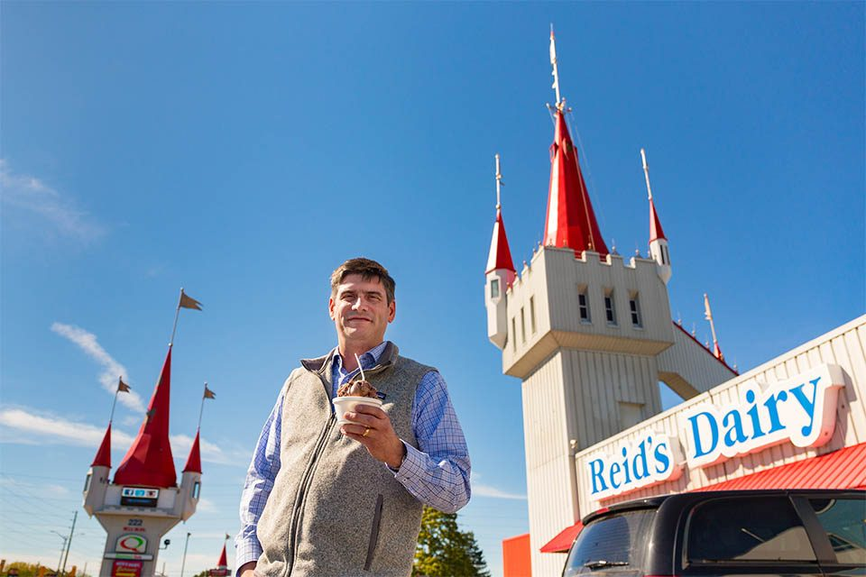 "It's been 11 years since Will Graham preached in the Quinte Region. However, Graham said this visit included his first time tasting a remarkable local ice cream shop. ""I just love coming to Canada,"" Graham said. ""Especially with Reid's Dairy here."""