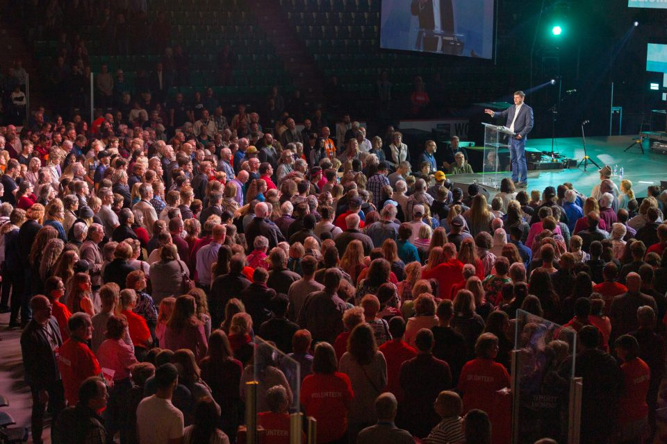 During the weekend outreach, several hundred people made decisions for Christ that will change their life here on earth and for eternity.