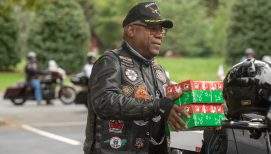 Bikers Donate Over 5,700 Operation Christmas Child Shoeboxes