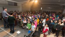 Small Community, Huge Heart: Hundreds in Arctic Canadian Village Receive Christ