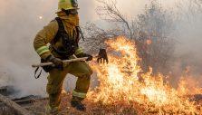 Rapid Response Team Ministering to Kincade Fire Evacuees