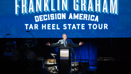 'God Is Our Only Hope': Franklin Graham Encourages Greensboro, NC