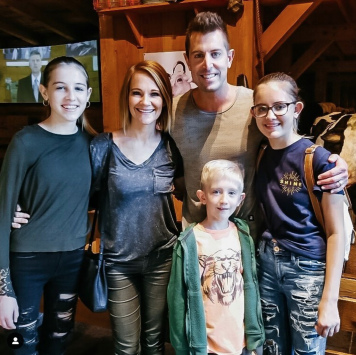 Jeremy Camp family