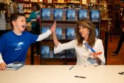 Tammie Jo Shults Book Signing Draws Fans of All Ages to the Billy Graham Library