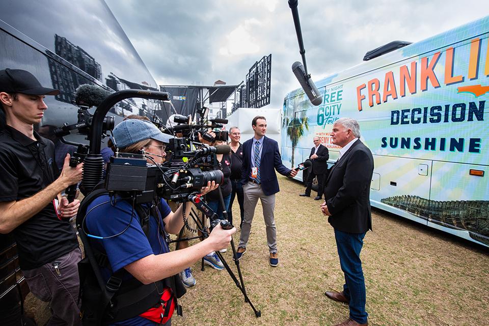Franklin Graham interview