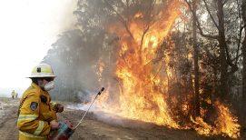 'It's Heartbreaking': Australian Chaplain Gives Fire Update