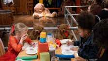 Children Hear of God's Love at Billy Graham Library's Teddy Bear Tea