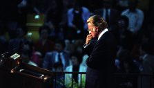 Billy Graham on the Importance of Patience, Service and Love