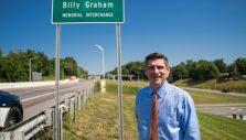 'Billy Graham Memorial Interchange' Now Official