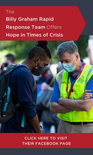 The Billy Graham Rapid Response Team Offers Hope in Crisis