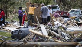 Chaplains Serve in Tornado's Aftermath in Eastern NC