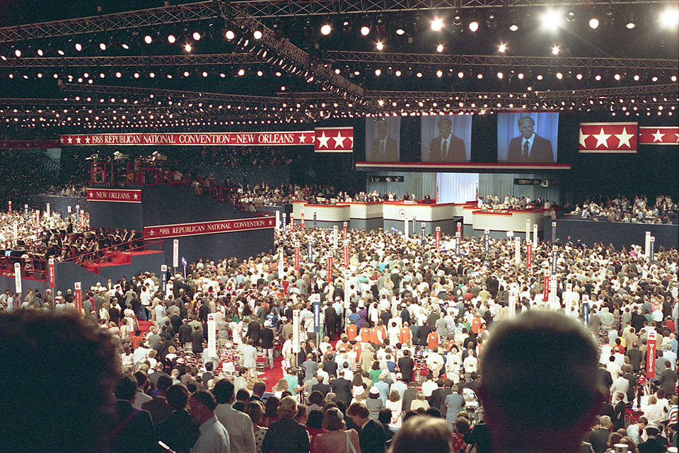 Billy Graham at 1988 Republican National Convention