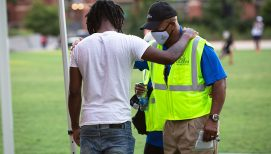Chaplains Offer Ministry of Presence During 'Pray on MLK' Event