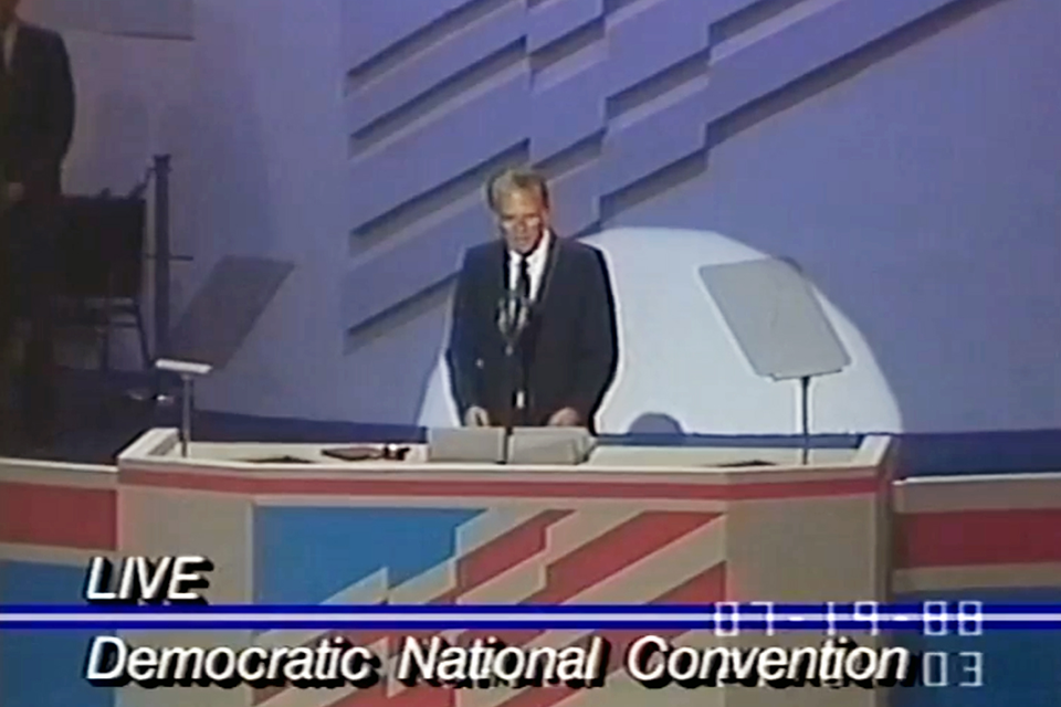 Billy Graham at 1988 Democratic National Convention