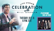 Tonight: Will Graham Shares Live Message on Drawing Near to God
