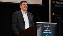Will Graham Encourages Law Enforcement at Appreciation Dinner