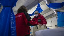 Chaplains Ministering at Samaritan's Purse Emergency Field Hospital