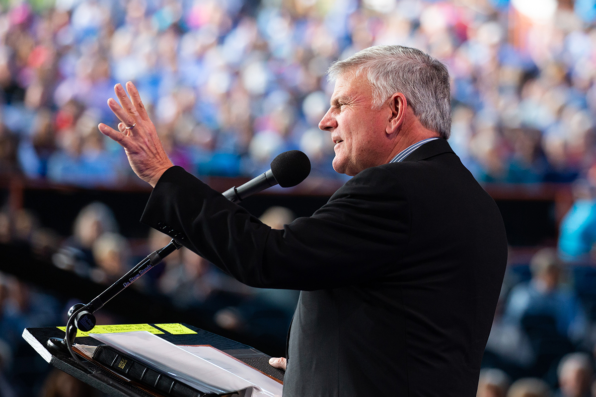 Franklin Graham for the 2021 Route 66 Tour